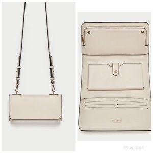 ZARA Crossbody Wallet Bag
